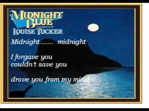 Midnight blue karaoke louise tucker.wmv