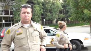 1st Amend Audit Chino Hills PD, Deputy annoyed by our lack of conversation