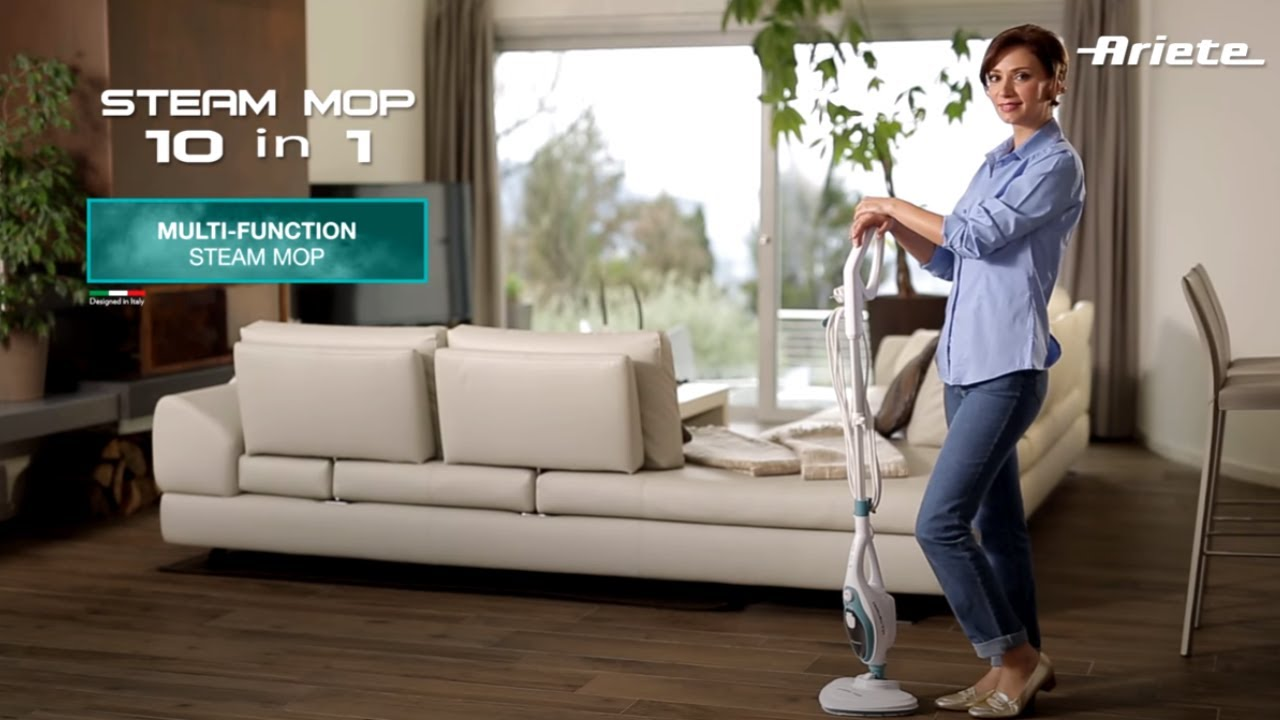 Ariete Steam Mop 10 In 1 4164 Eng Youtube