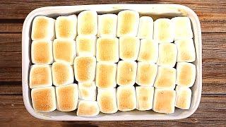 Сладкий картофель БАТАТ с Маршмеллоу | рецепт манифтв рукавички