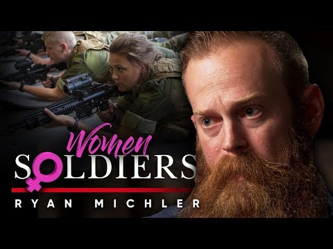 FEMALES IN THE MILITARY - Women Make The Army Have Inferior Standards | Ryan Michler On London Real