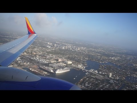 (HD) Full Flight - Fort Lauderdale to Denver - SWA 4535