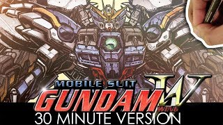 Drawing GUNDAM WING ZERO in 30 MINUTES - and in FULL COLOR!