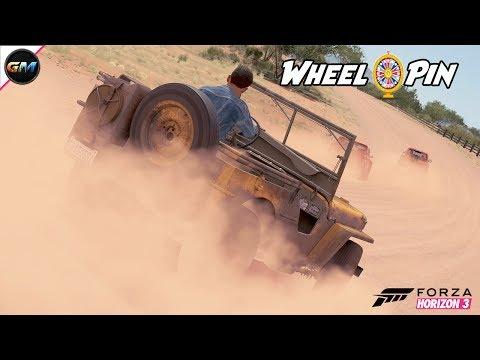 Forza Horizon 3 Wheelspin Batmobil und Army Style
