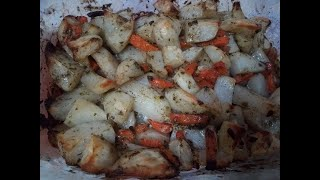 Вкуснейшая картошка в духовке. Очень вкусно. Быстрый способ накормить семью/Простые Рецепты
