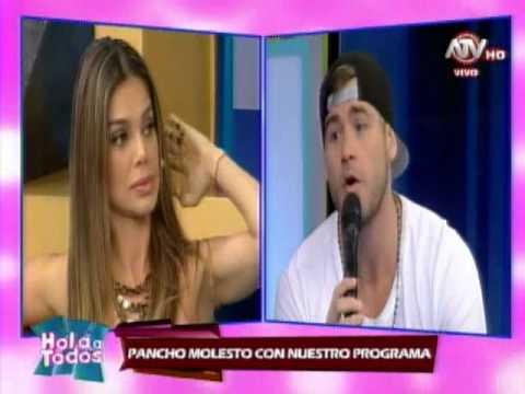 HOLA A TODOS: Pancho Rodríguez tuvo enfrentamiento con conductores