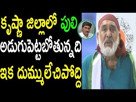కృష్ణా జిల్లాలో పులి Actor Vijay Chandra About YS Jagan Krishna District Grand Entry Cinema Politics
