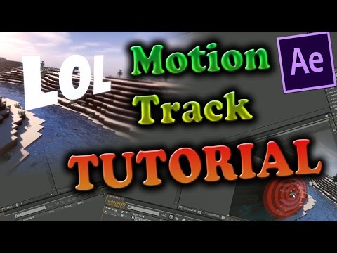 Motion Tracking text TUTORIAL! [After effects][How to motion track][McPvP Montage Tutorial #6]