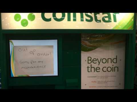 PLEASE DON'T PUT BULLETS IN THE COINSTAR MACHINE!!!