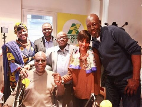 Monique Séka invitée par Manu Dibango sur Africa N°1
