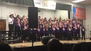 "Warwick Elementary Choir at ""FUSD"