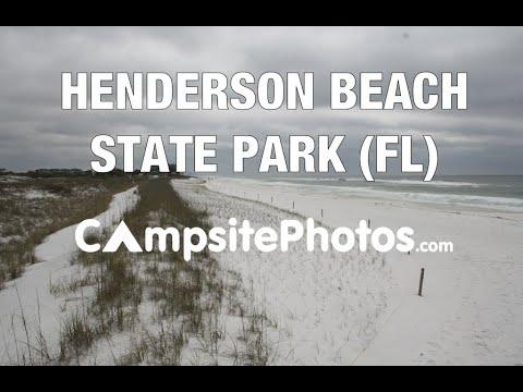 Henderson Beach State Park Florida Campsite Photos