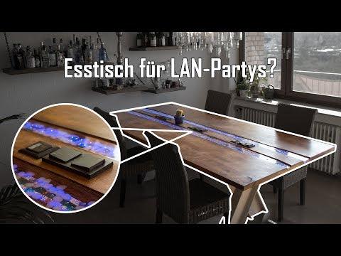 Ist das der perfekte LAN Party Tisch ? - Epoxy River Table Part 1