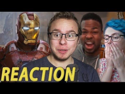 Avengers: Infinity War Trailer Tease REACTION