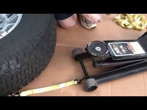 Easy and safe way to break a tire bead
