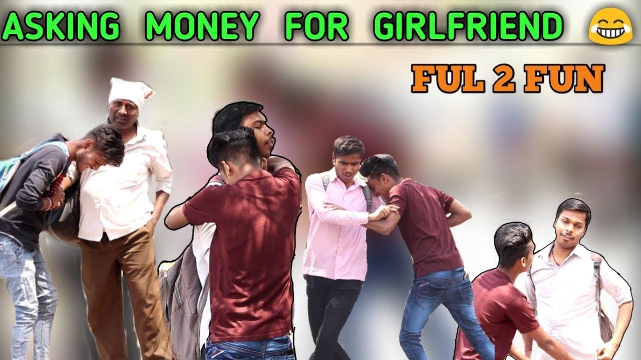 #latur#askingmkneyforgf #comedy Asking Money For Girlfriend    Mad Prank   Prank By Vaibhav