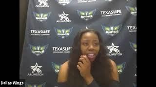 Dallas Wings Media Day: Arike Ogunbowale