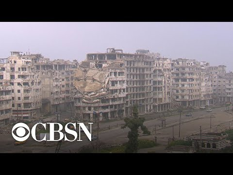 Reporter's notebook: Jonathan Vigliotti on the damage in war-torn cities in Syria – CBS World News