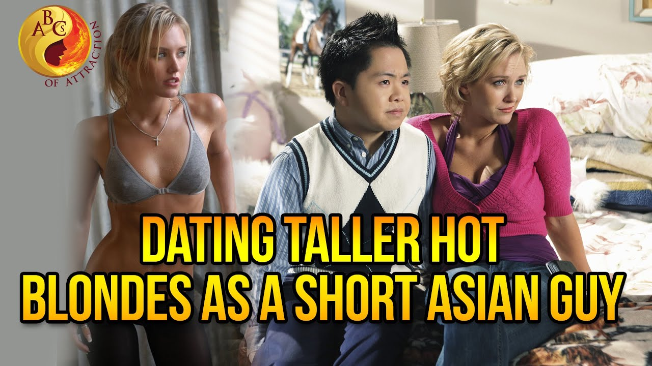 How To Date Tall Hot Blonde Women As A Short Asian Man -4621