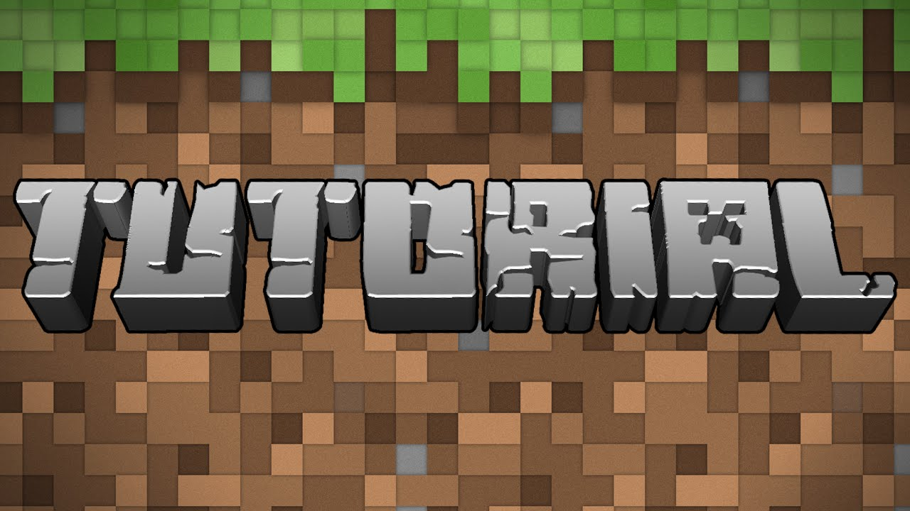 How to Make Your Own Minecraft 3D Text in Adobe Photoshop (Simple)