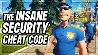 Planet Coaster : SECURITY MAYHEM CHEAT CODE?!