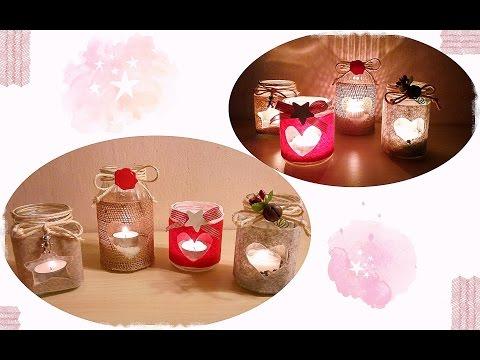 Come creare dei regali di Natale con i vasetti di vetro | Fai da