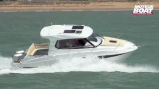 BENETEAU ANTARES 8.80 - Essai moteurboat.com