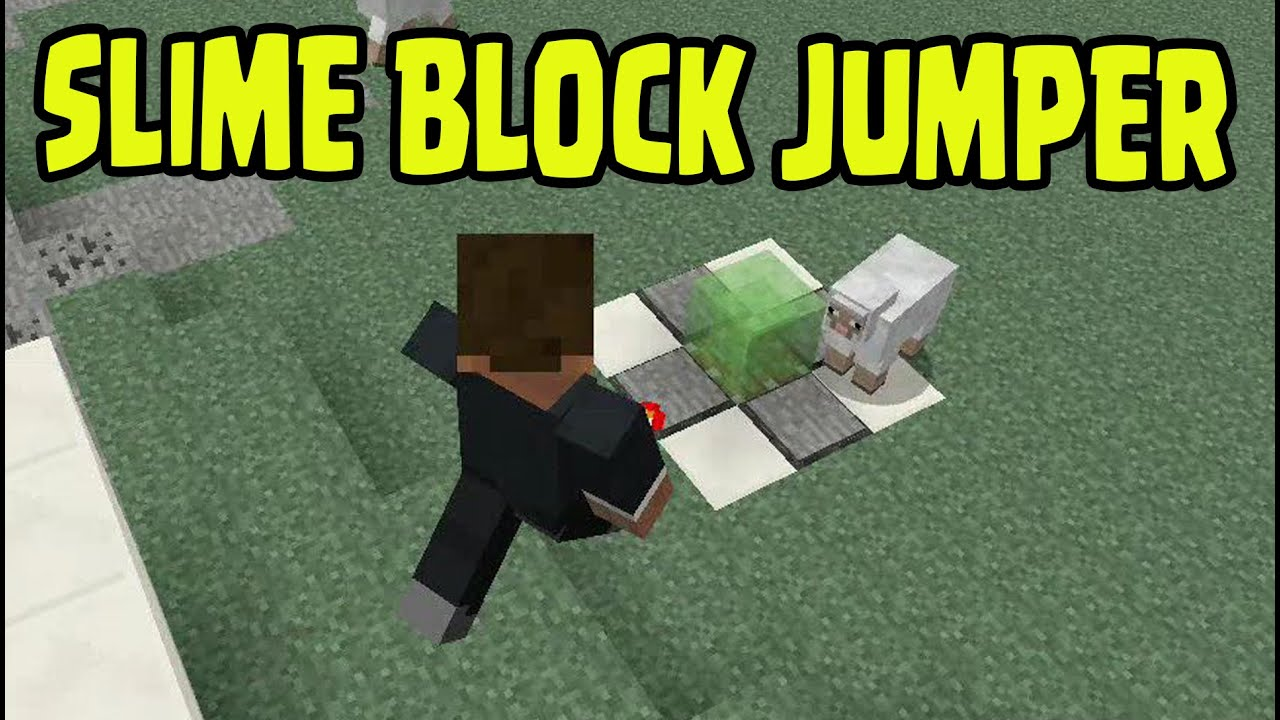 Minecraft ps3 ps4 xbox slime block jumper machine youtube minecraft ps3 ps4 xbox slime block jumper machine ccuart Image collections