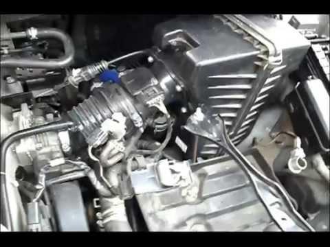 Mazda MPV эксплуатация и ремонт how to change the fuel pump.как самому поменять бензонасос.