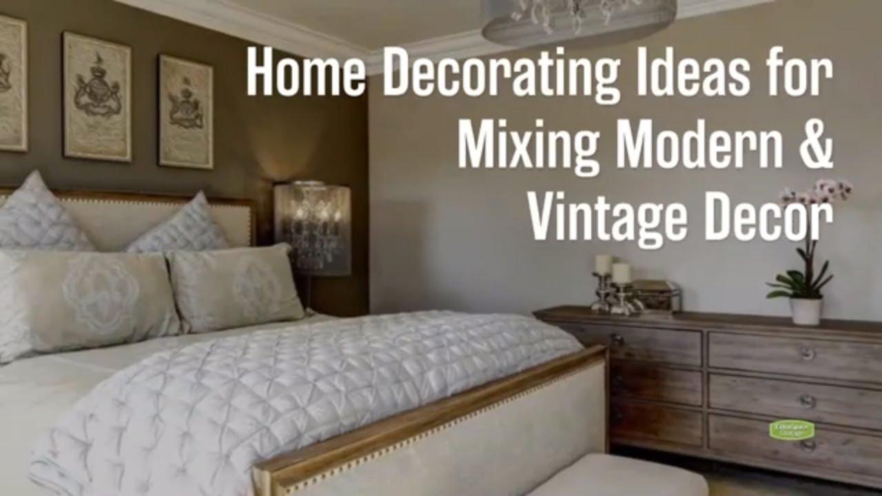 modern vintage bedroom
