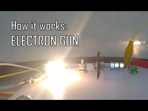 How an electron gun works