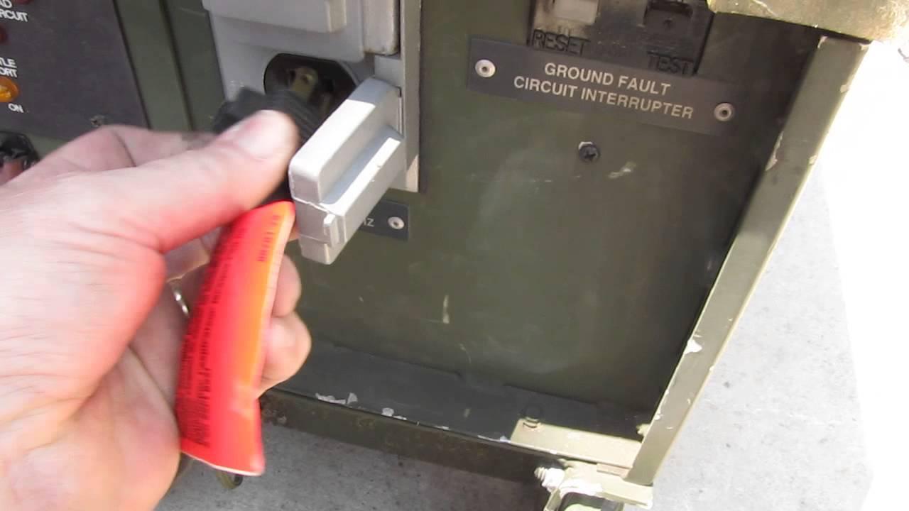 MEP 831A 3 kW Generator FZA 00669 YouTube