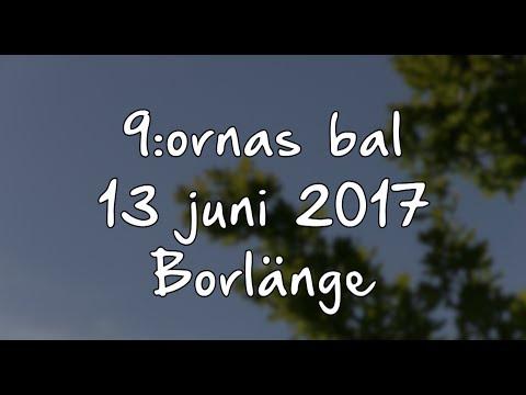 Ankomsten till niornas (9:ornas) bal Borlänge 13 juni 2017