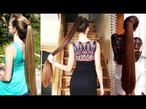 Top 10 Sexiest Long Hair Ponytails on Instagram 2018