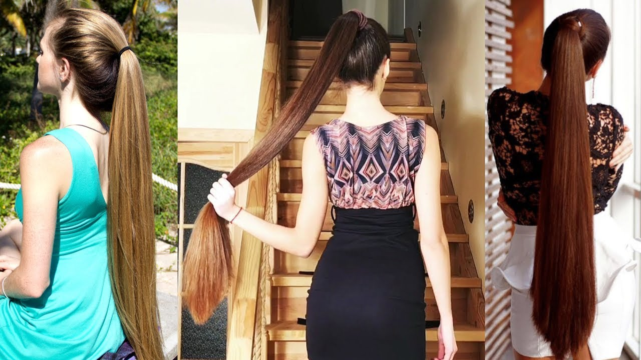 Top 10 Sexiest Long Hair Ponytails On Instagram 2018 - Youtube-9439