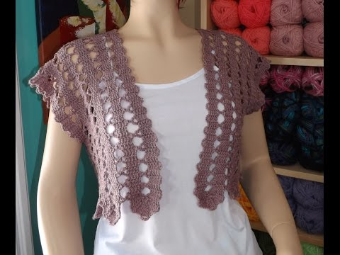 Crochet summer cardigan part 1 of 2 - with Ruby Stedman