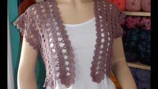 Repeat youtube video Crochet summer cardigan part 1 of 2 - with Ruby Stedman