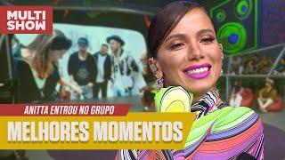 """Anitta recebe """"NÃO"""" de alguém?! 🤔😂   Melhores Momentos   Anitta Entrou no Grupo   Multishow"""