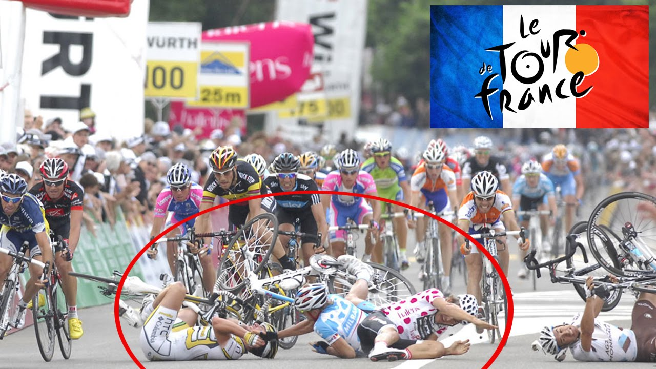 Tour De France Chute Incroyable Top 5 Top 5 Moments To Remember In Cycling Youtube