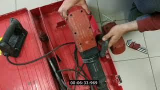 Обзор Разборка инструмента HILTI TE 905 отбойный молоток 1998года выпуска