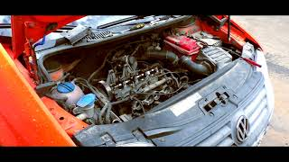 Стук гидриков VW CADDY 2.0 BSX