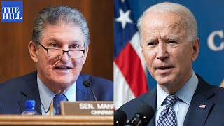 Joe Manchin REVEALS DETAILS of his discussion with Joe Biden on infrastructure