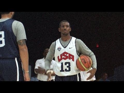 Chris Paul USA Highlights - 2012 Men's Olympic Basketball Team - London 2012