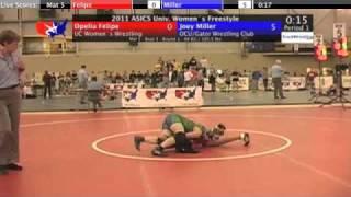 University Women 48kg - Joey Miller vs. Opelia Felipe