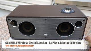 GGMM M3 Wireless Digital Speaker - AirPlay & Bluetooth Review