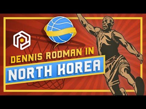 The Insane Story of Dennis Rodman in North Korea