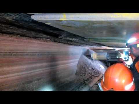работа в шахте -