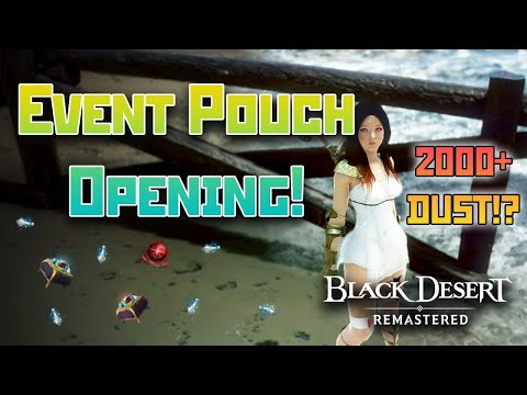 Opening Event Pouches and Narc Stone Rewards | Black Desert Online [BDO]