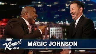 magic-johnson-on-kobe-bryant-the-lakers-vacations-with-jimmy-kimmel