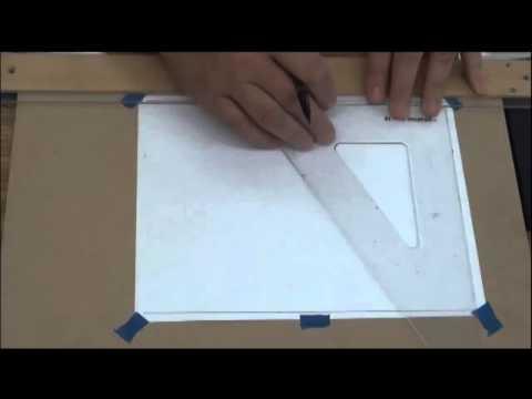 video 1 of manual drafting 001